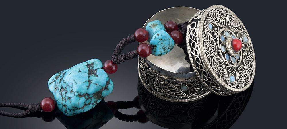 チベット密教仏具ガウ