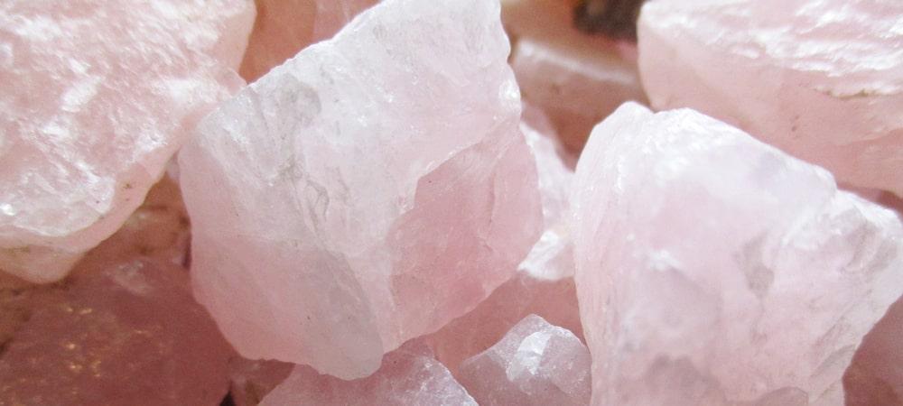 ローズクォーツ(紅水晶)アクセサリー